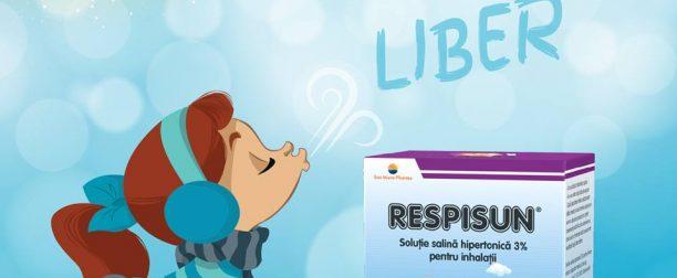 RESPISUN – Primul mucolitic în inhalaţii cu acţiune directă