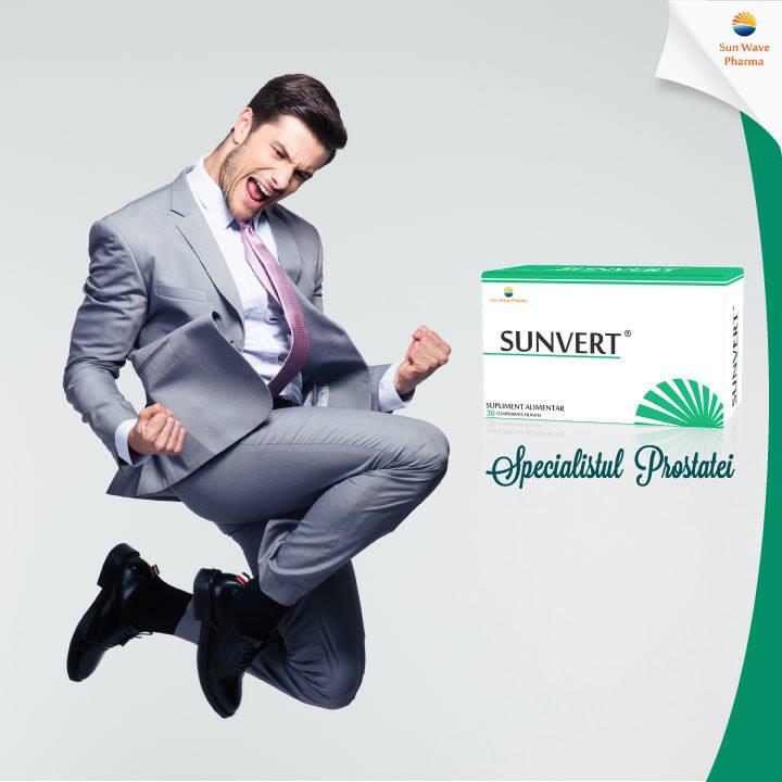 Sunvert - Sun Wave Pharma, 30 comprimate (Pentru prostata) - prostatita.adonisfarm.ro